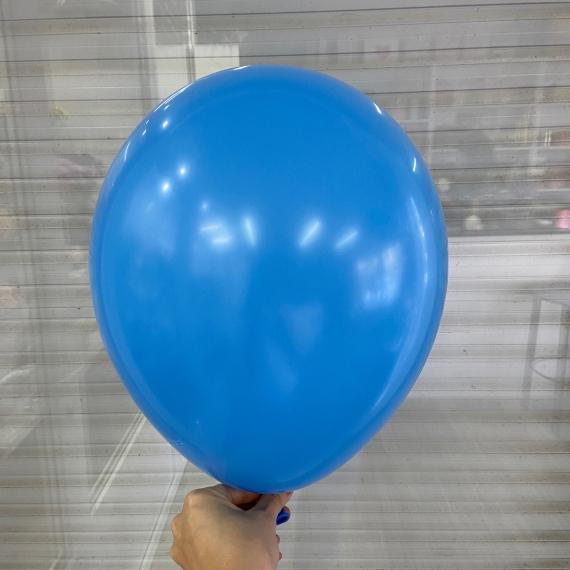 """Шар без рисунка """"Голубой пастель"""" (30 см)"""