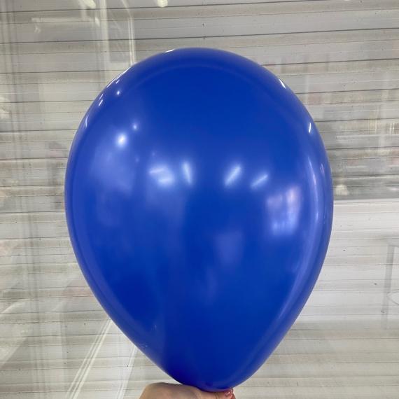 """Шар без рисунка """"Синий пастель"""" (30 см)"""