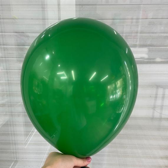 """Шар без рисунка """"Зеленый пастель"""" (30 см)"""
